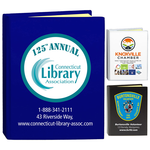 """""""Eastvale PI"""" PhotoImage ® Full Color Imprint* Full Size Sticky Notes and Flags Notepad Notebook"""