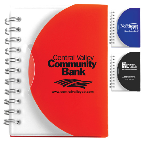 """Mountain View"" Pocket Jotter Notepad Notebook"