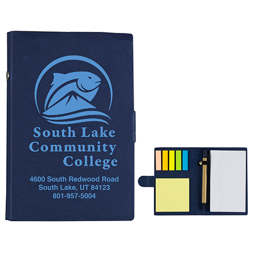 """""""Lansing"""" Sticky Notes, Flags and Pen Notepad Notebook"""