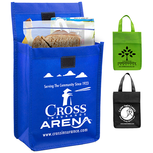 """6-1/2"""" W x 9"""" H - """"Bag-It"""" Value Priced Lightweight Lunch Tote Bag"""