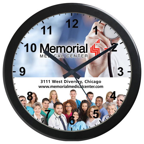 """Crown"" 14"" Grande Wall Clock"