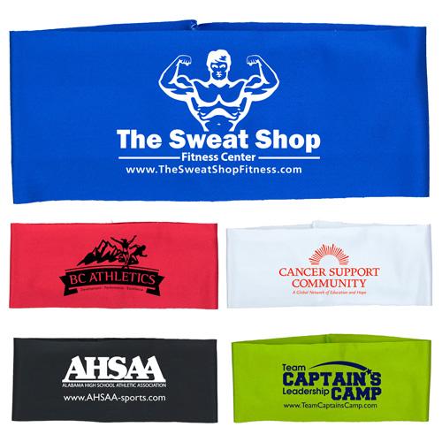 """The Austin"" Sporty Headband Headwear Silkscreen - Domestic Production"