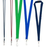 Blank Lanyards & Badgeholders