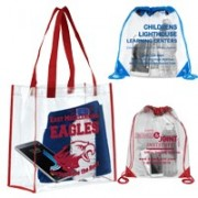 Clear Bags and Totes